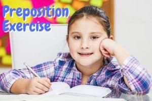 Preposition Exercise