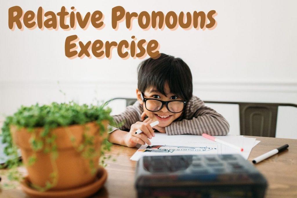 Relative Pronouns Exercise