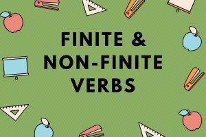 finite and non-finite verbs