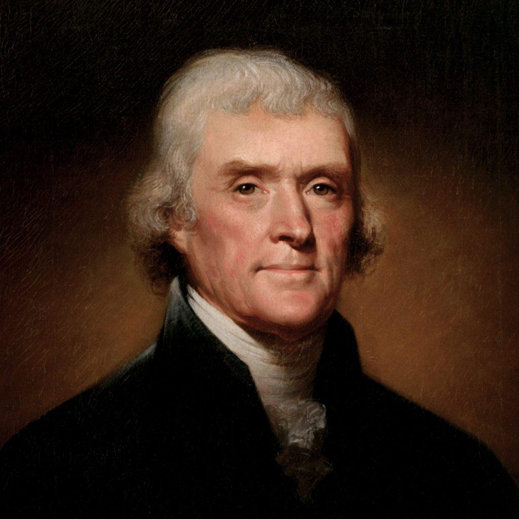 Tổng thống Hoa Kỳ - Thomas Jefferson