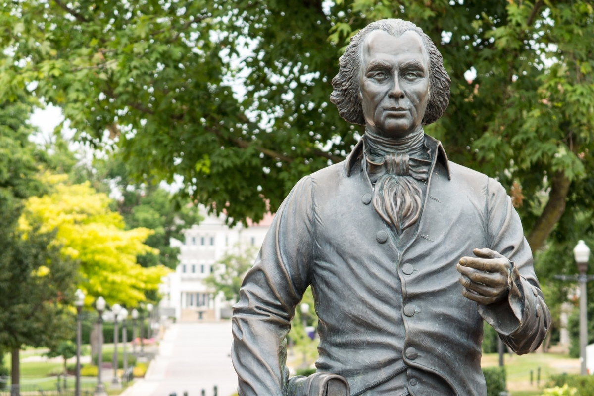 Cha đẻ của Hiến Pháp Hoa Kỳ - James Madison