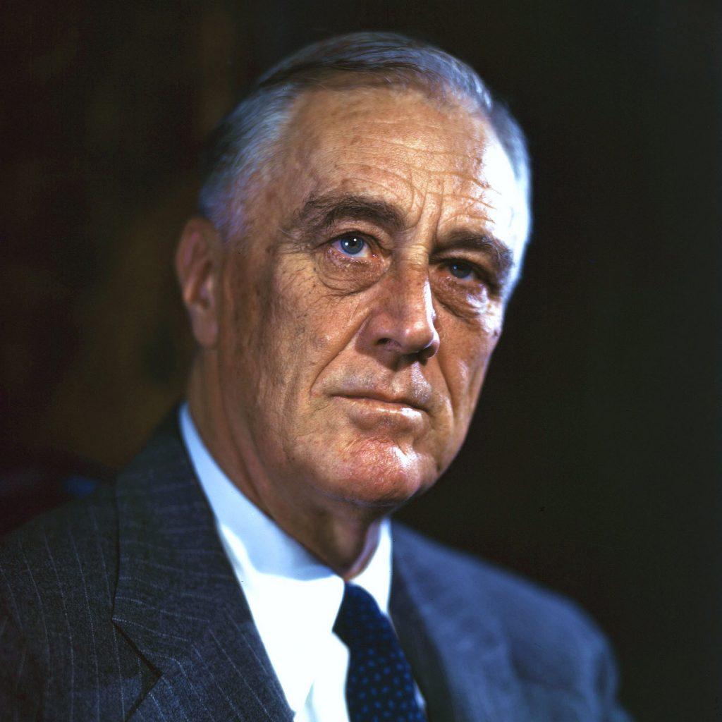 Tổng thống Hoa Kỳ - Franklin D Roosevelt