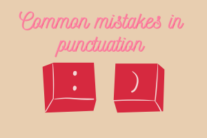 Các lỗi dùng dấu câu thường gặp khi sử dụng tiếng Anh