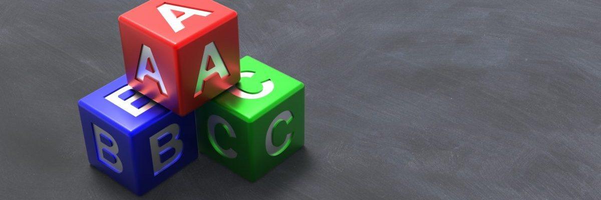 phương pháp học tiếng Anh cho trẻ em nguyên tắc bảng chữ cái